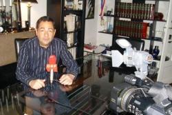 Interview pour ORF (télé Autriche) 14 mars 2008