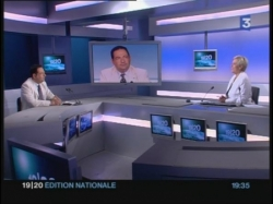 Invité du 19/20 national de France 3 pour la Gay P