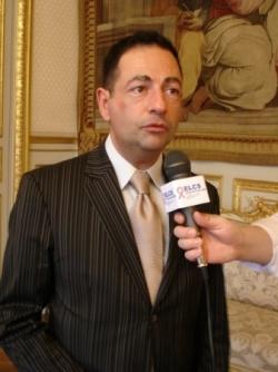 interview télé pour les EG d'ELCS