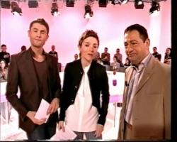 Avec les présentateurs du Set sur Pink