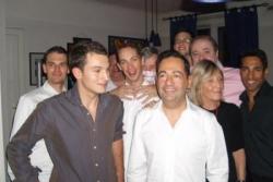 Mon anniversaire 2008, Chris et mes amis