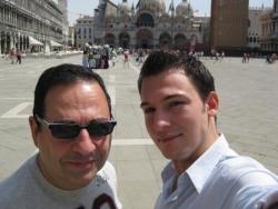 Avec Chris à Venise - mai 2009