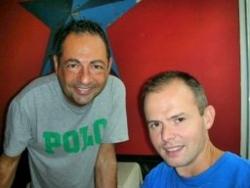 Avec un ami de Toronto Olivier en 2006