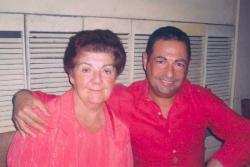 Avec maman à Rio pour Noël 2005