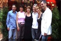 Avec la chanteuse Stone et Evelyne Dress
