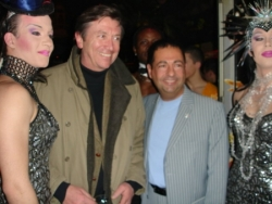 avec mon ami le journaliste de TF1 Jacques Legros