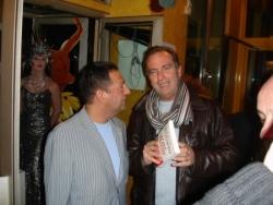 Avec Yves Lecoq, à la sortie de mon 5ème livre
