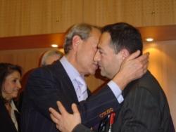 Avec Bertrand Delanoë