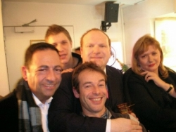 Avec Catherine Jacob, Franck de la Personne, Jean-