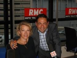 Avec Brigitte Lahaie à RMC le 31 mai 2007