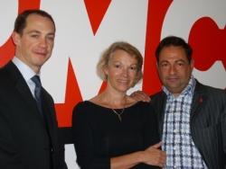 Avec Phil et Brigitte le 31 mai 2007