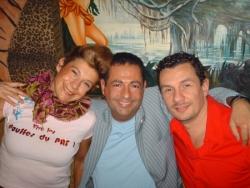 Avec Frigide Barjot et Bruno d'Equivok