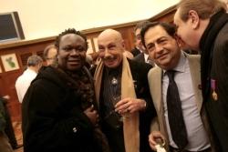 Avec magloire, Serge et Michel du Banana