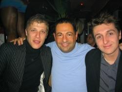 Avec Jean-Edouard Lipa et Manuel Charrier