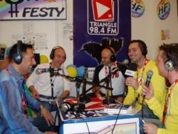 Radio avec Jérôme et mes amis d'Homofesty