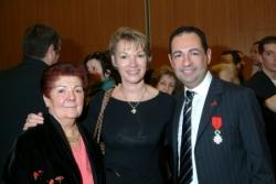 Avec Brigitte Lahaie et maman