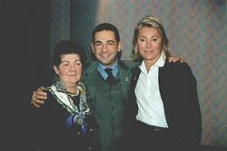 Avec maman et Sheila
