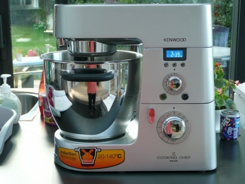 Kenwood cooking chef versus thermomix sooky aime jean for Cooking chef vs thermomix