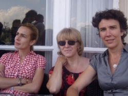 Sandrine Bonnaire, Isabelle Bottaro et moi