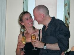 Sandrine Bonnaire et Guillaume Laurant
